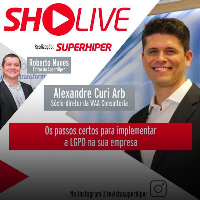 LGPD é tema de live promovida pela SuperHiper